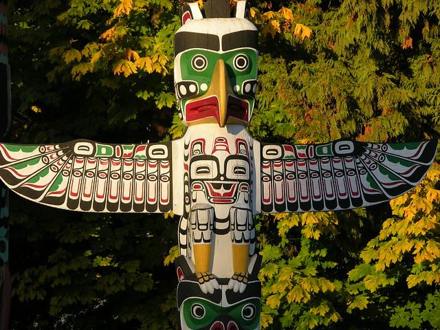 Toten pole vancouver canada flickr photo sharing - Totem palo modelli per bambini ...