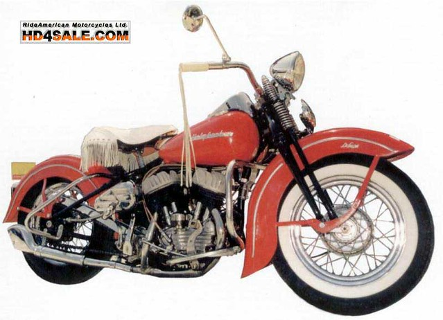 1947 Harley Davidson Pan Head http://www.flickr.com/photos/harley-davidson/70953548/