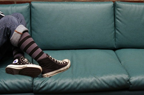 Converse on the Couch