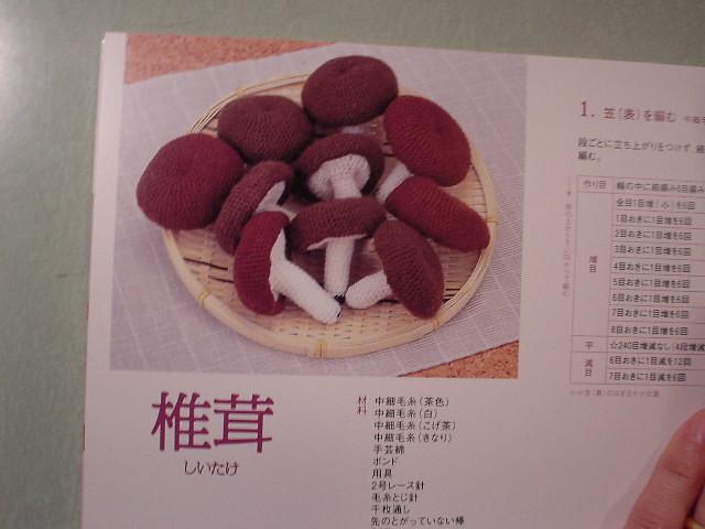 amigurumi shiitake, Sony DSC-U30