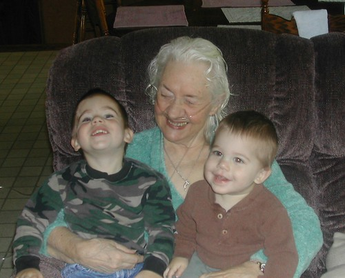 Two great grandbabies