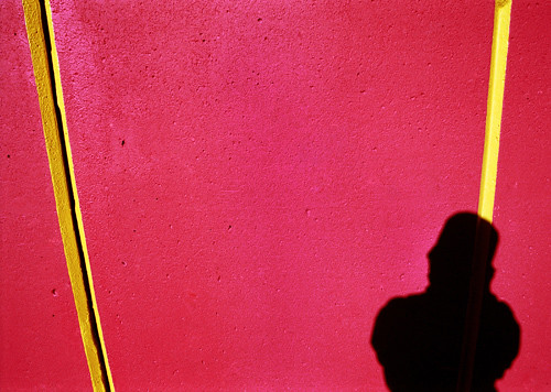 red red wall
