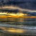 Sunset over Santa Cruz Island - HDR by Amery Carlson