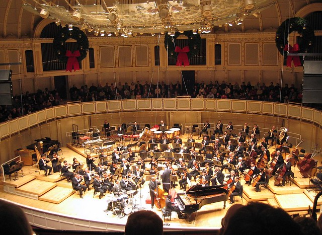Chicago Symphony Orchestra, featuring the Marcus Roberts Trio - 無料写真検索fotoq
