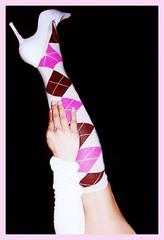 violet(0.0), human body(0.0), thigh(0.0), tights(0.0), pattern(1.0), arm(1.0), magenta(1.0), footwear(1.0), purple(1.0), maroon(1.0), limb(1.0), leg(1.0), sock(1.0), pink(1.0),