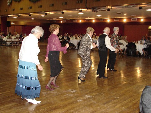 Seniors dance, France, Argenteuil
