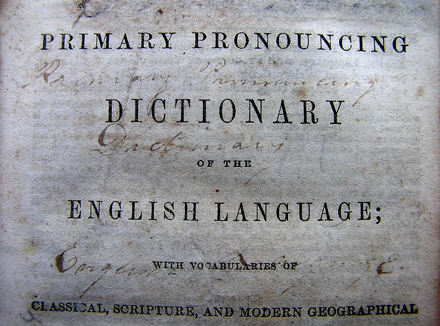 pronouncing dictionary from Flickr via Wylio