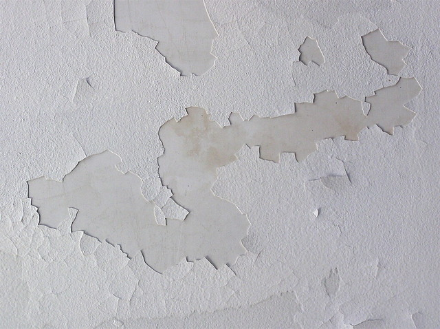 Ceiling Paint Peeling In Kitchen
