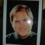 "Steve Jobs ""Welcome Aboard"" Photo"