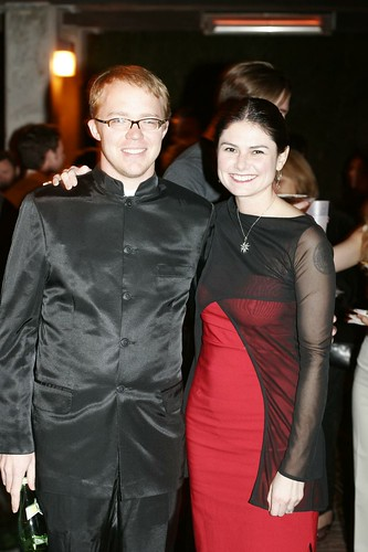 austin powers and doctor love at the inter@ctivate prom