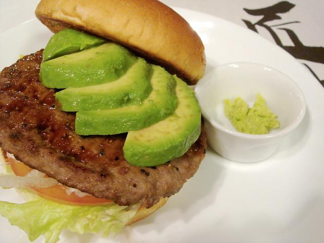 Takumi Wasabi-Avocado Burger @ MOS Burger - a photo on Flickriver