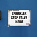 Sprinkler Signs