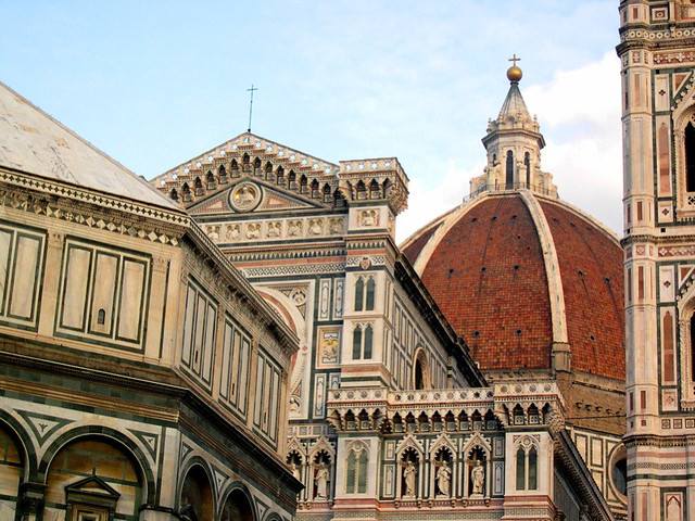 The Campanile Di Giotto & The Duomo of Florence