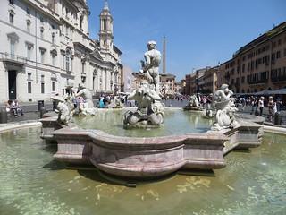 Imagen de Fuente del Moro. italy rome roma fountain piazzanavona fontanadelmoro