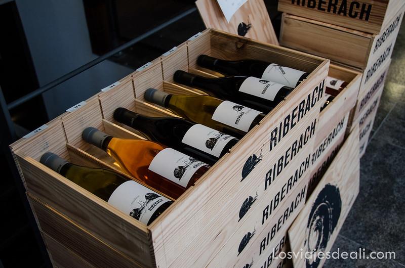 vinos riberach en Belesta de camino al refugio la batére