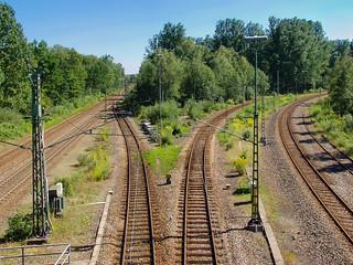 Bahnstrecke/Railroad - Donaueschingen - Deutschland/Germany - 5 september 2004