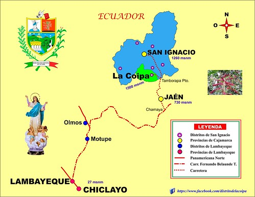 américa carretera perú jaén cajamarca amazonas sanignacio unprg piura chota chiclayo chachapoyas cutervo chirinos huarango viravira namballe tabaconas lacoipa sanjosédelourdes