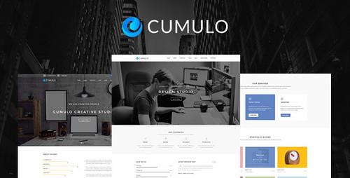 Cumulo - Multi-Purpose PSD Template (Corporate)
