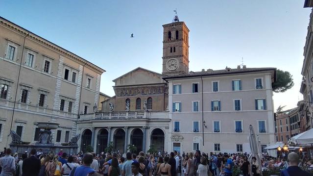 Die Basilika Santa Maria di Trastevere