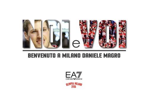 All'Olimpia arriva Daniele Magro