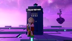 LEGO Dimensions Doctor Who Sixth Doctor