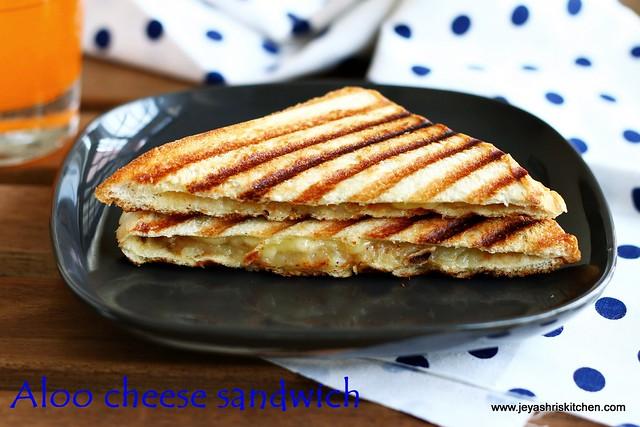 potato-cheese sandwich