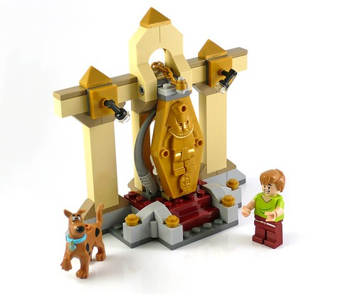 LEGO Scooby Doo 75900 Mummy Museum Mystery 05