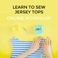 Learn to Sew Jersey Tops online workshop