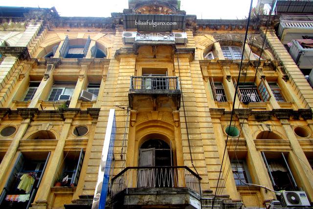 Colonial Building Yangon Myanmar