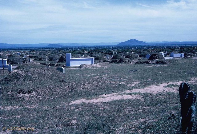 Phan Thiet 1967 - Photo by Bob Kelly - Cemetery on the way into Phan Thiet
