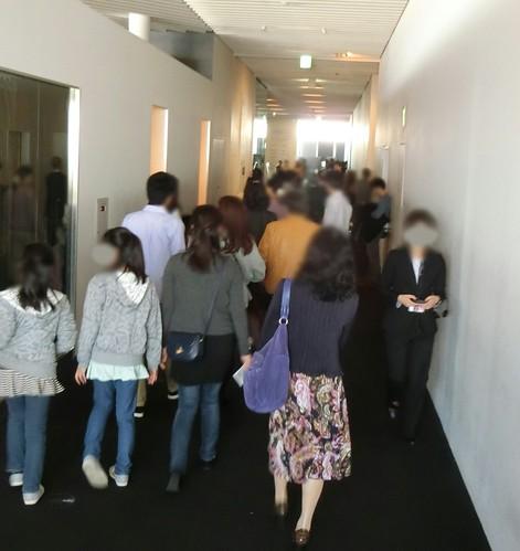 六本木ヒルズのマリー・アントワネット展の混雑