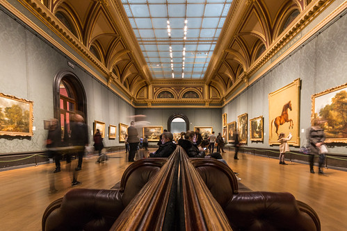 Benches of The National Gallery