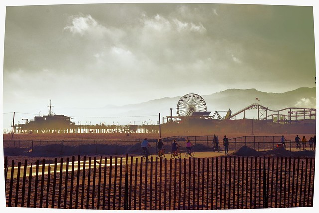 Santa Monica Pier, California, USA