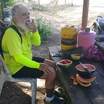 Tue, 01/24/2017 - 14:31 - Best tasting watermelon after 100 km in the hot sun