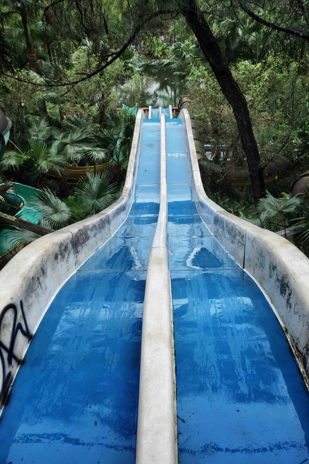 Hue - Ho Thuy Tien - Abandoned Water Park - Slides 2