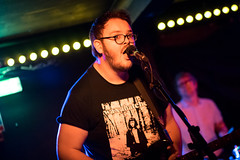 Bruising supporting Kid Wave at the Sebright Arms