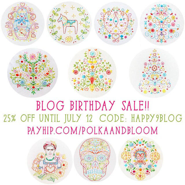 Blog birthday sale