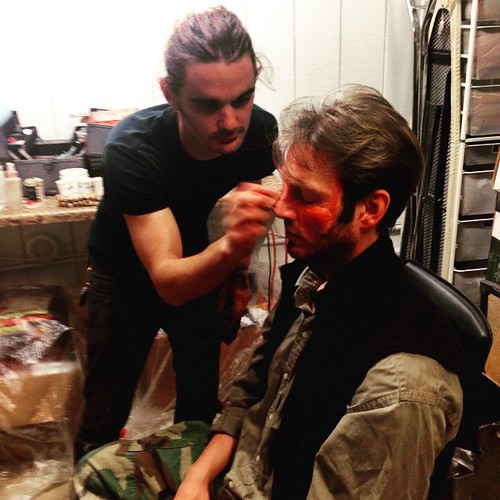 Another #Makeup job for #Actor. We will be here working all night. Happy Father's Day Dads