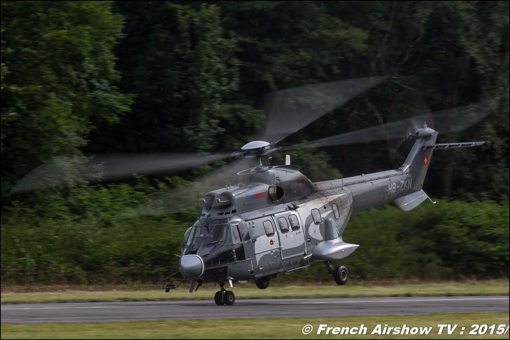 Super PUMA SAF, EC-225, Aérospatiale AS332 Super Puma SAF, Fête aerienne Albertville 2015, Meeting Aerien 2015