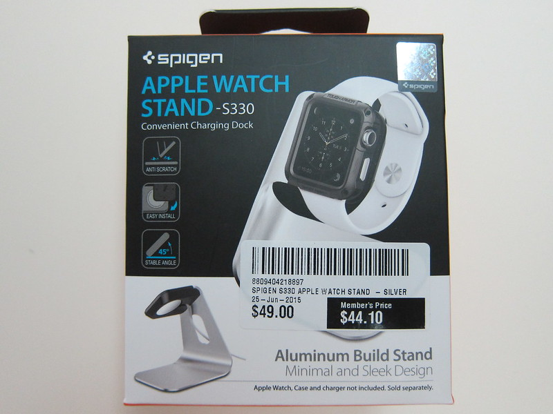 Spigen Apple Watch Stand S330 - Box Front
