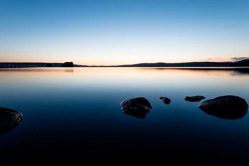 sunset lake rocks fuji shot sweden nora fujifilm sverige fujinon nigh nighshot 1024 xt1