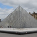 The Louvre pyramid is central by Monceau
