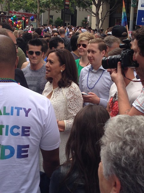 Pride2015SF_KamalaHarris from Flickr via Wylio