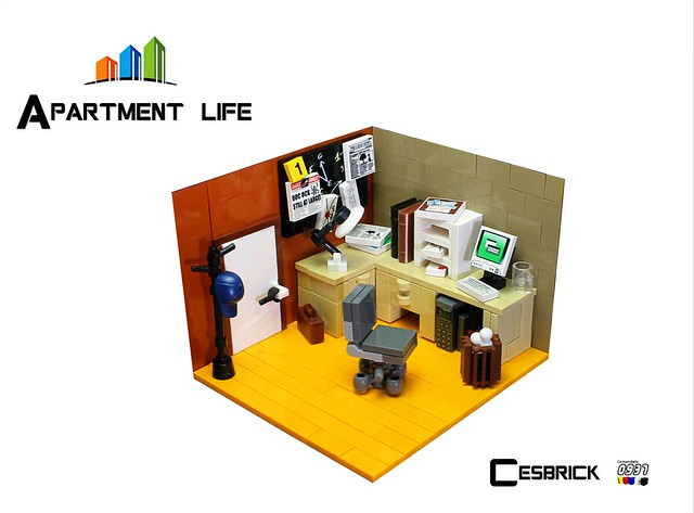 LEGO Apartment life - Home office