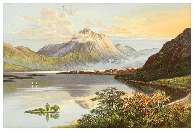 008- Lago Maree-Scottish loch scenery-1882-A.F. Lydon