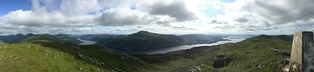 Pano from  Beinn Bhreac