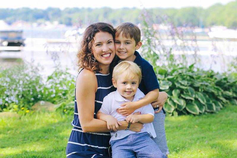 Buffalo family photography