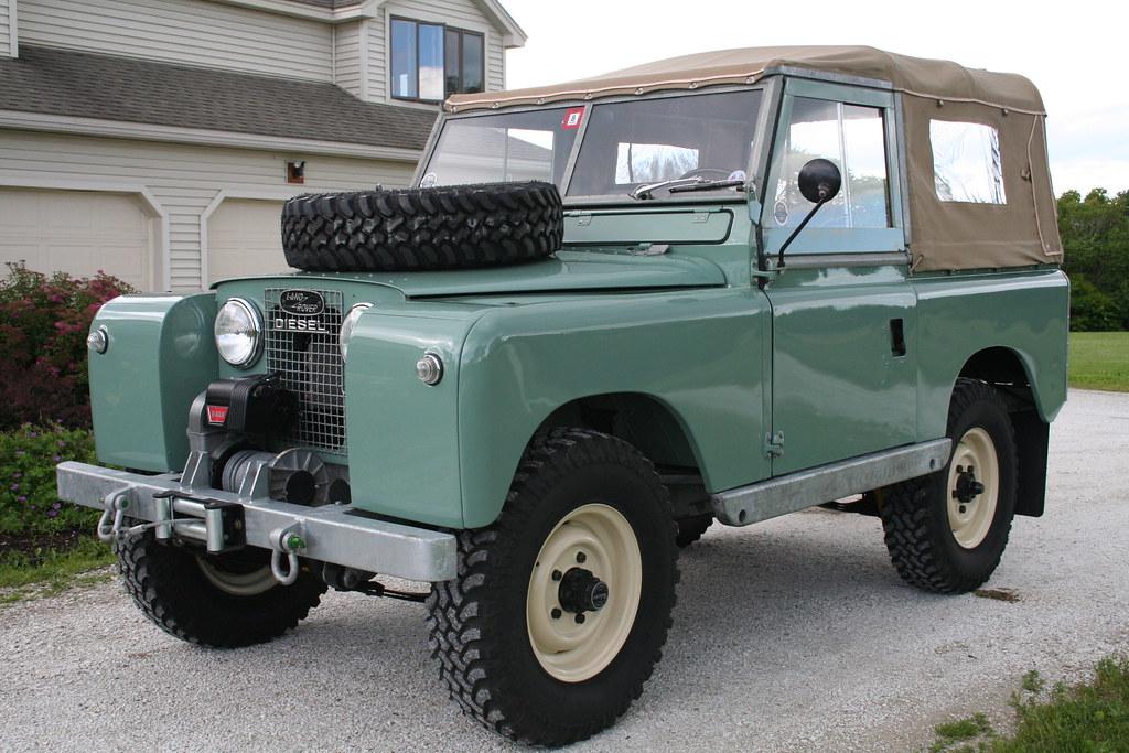 restored 1960 land rover series ii bring a trailer. Black Bedroom Furniture Sets. Home Design Ideas