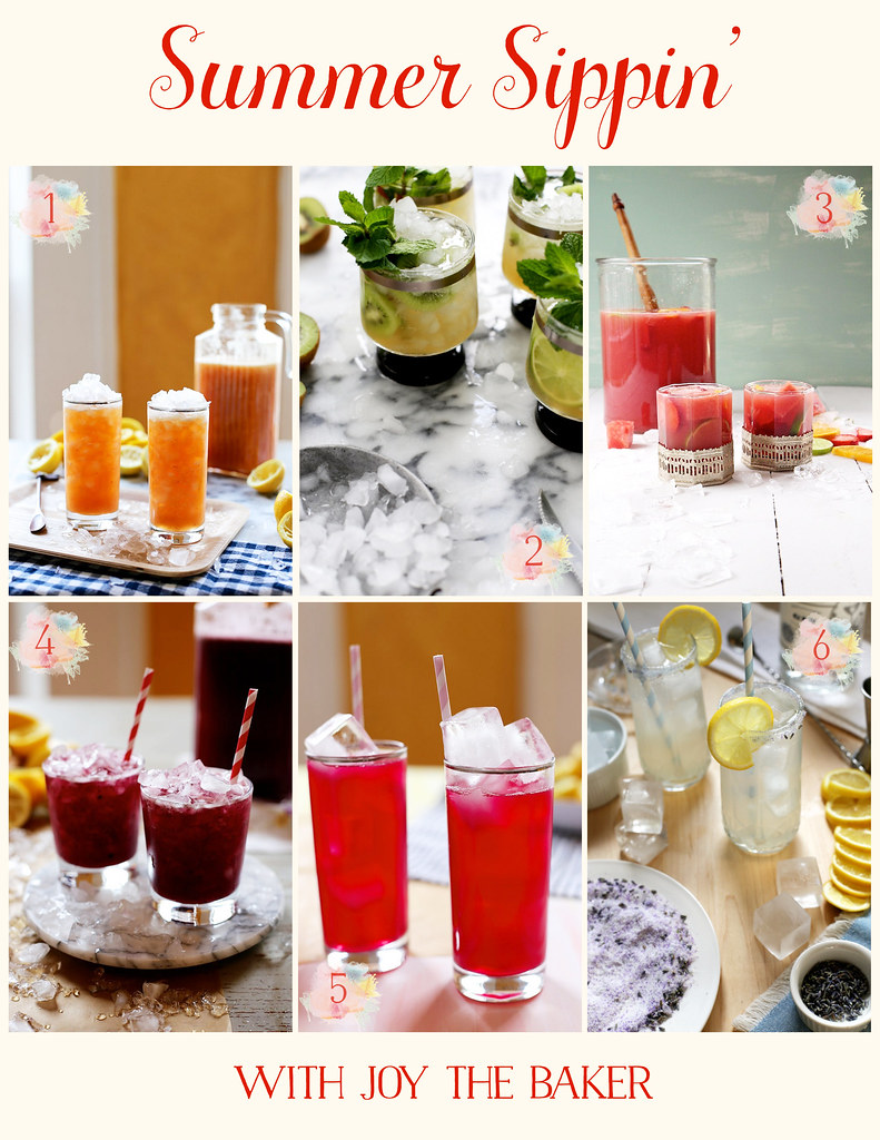 My Six Favorite Summer Drinks