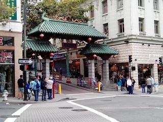 Dragon's Gate görüntü. sanfrancisco city chinatown entrance portal ville entrée portail dragonsgate